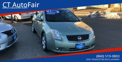 2008 Nissan Sentra for sale at CT AutoFair in West Hartford CT
