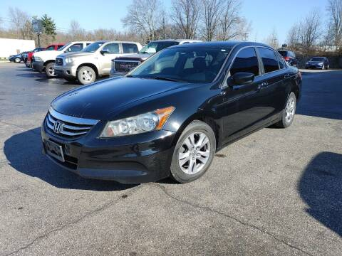 2012 Honda Accord for sale at Cruisin' Auto Sales in Madison IN