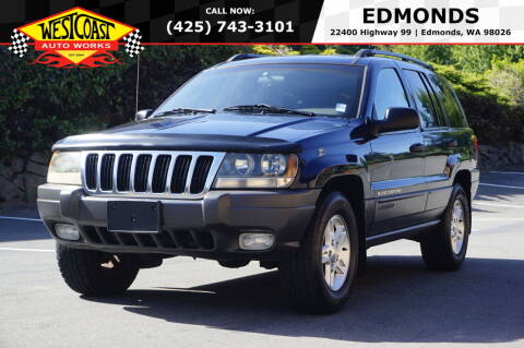 2002 Jeep Grand Cherokee for sale at West Coast Auto Works in Edmonds WA