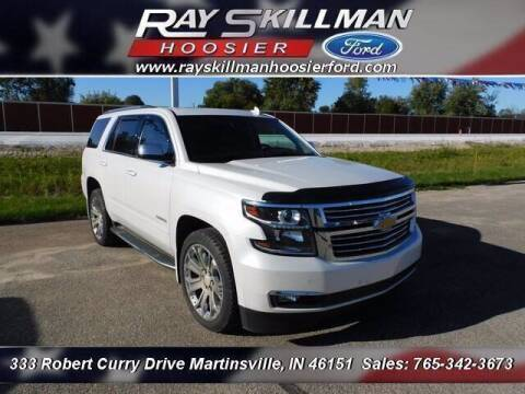 2017 Chevrolet Tahoe for sale at Ray Skillman Hoosier Ford in Martinsville IN