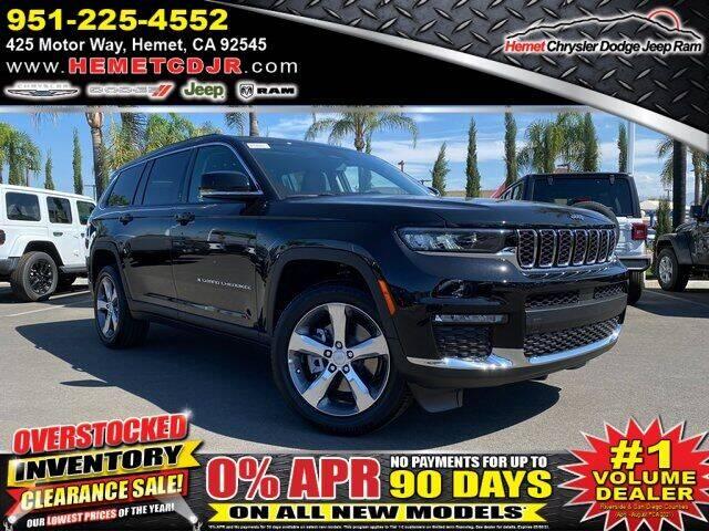 2021 Jeep Grand Cherokee L for sale in Hemet, CA