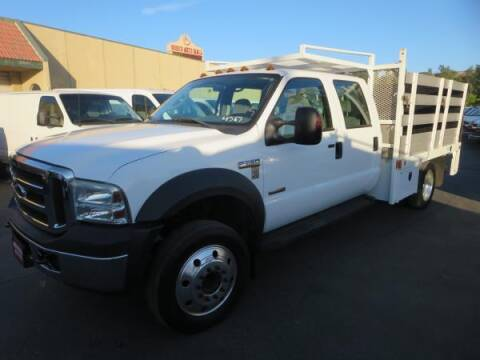 2006 Ford F-550 Super Duty for sale at Norco Truck Center in Norco CA