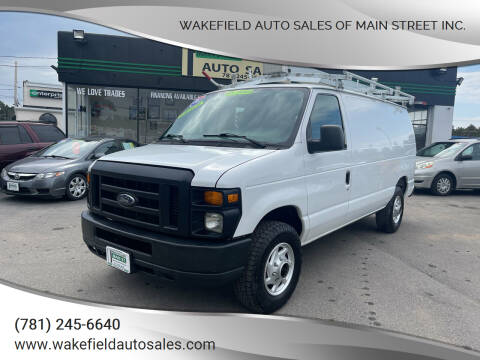 2011 Ford E-Series Cargo for sale at Wakefield Auto Sales of Main Street Inc. in Wakefield MA