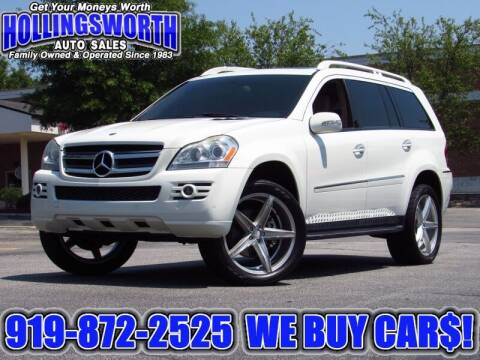 2008 Mercedes-Benz GL-Class for sale at Hollingsworth Auto Sales in Raleigh NC