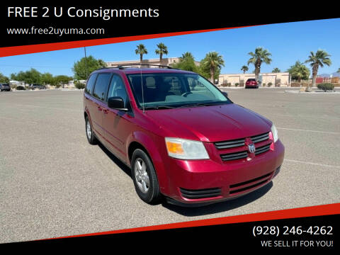 2010 Dodge Grand Caravan for sale at FREE 2 U Consignments in Yuma AZ