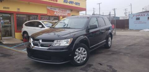 2017 Dodge Journey for sale at Popas Auto Sales in Detroit MI