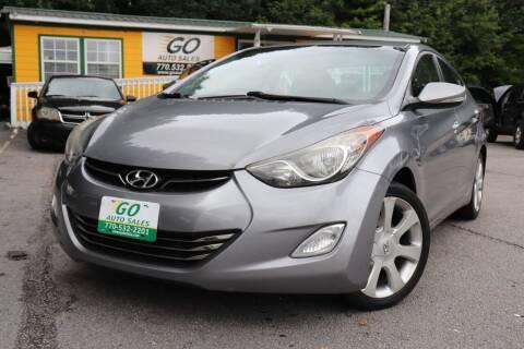 2013 Hyundai Elantra for sale at Go Auto Sales in Gainesville GA