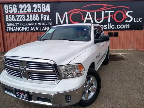 2016 RAM Ram Pickup 1500 for sale at MC Autos LLC in Pharr TX