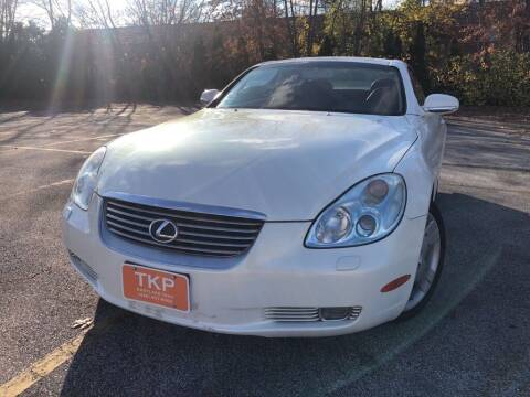 2003 Lexus SC 430 for sale at TKP Auto Sales in Eastlake OH
