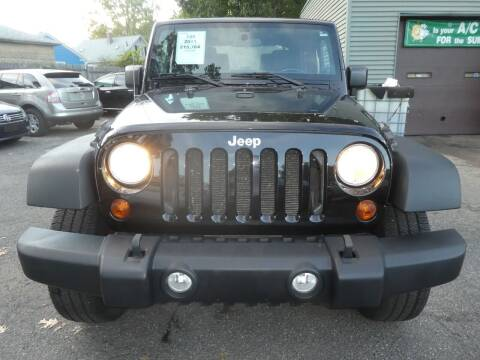 2011 Jeep Wrangler for sale at Wheels and Deals in Springfield MA