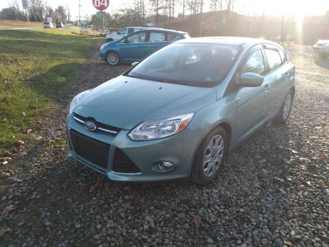 2012 Ford Focus for sale at Seneca Motors, Inc. (Seneca PA) in Seneca PA