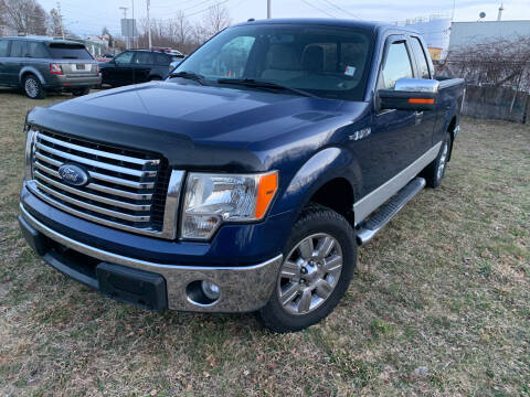 2010 Ford F-150 for sale at SODA MOTORS AUTO SALES LLC in Newport RI