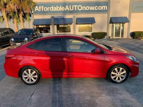2012 Hyundai Accent for sale at Affordable Autos in Houma LA