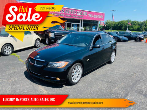 2008 BMW 3 Series for sale at LUXURY IMPORTS AUTO SALES INC in North Branch MN