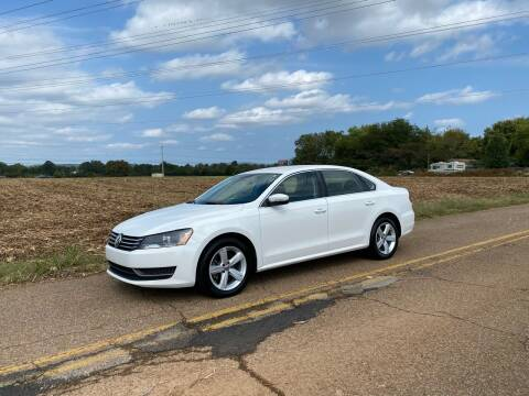 2013 Volkswagen Passat for sale at Tennessee Valley Wholesale Autos LLC in Huntsville AL