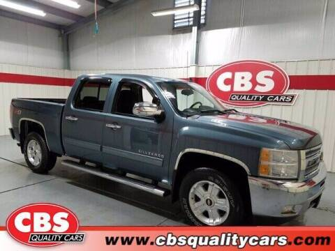 2012 Chevrolet Silverado 1500 for sale at CBS Quality Cars in Durham NC