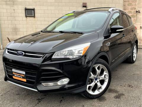 2015 Ford Escape for sale at Somerville Motors in Somerville MA