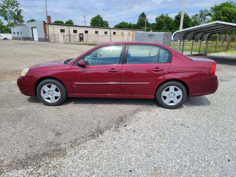 2006 Chevrolet Malibu for sale at MIKE'S CYCLE & AUTO in Connersville IN