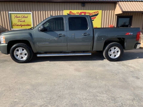 2011 Chevrolet Silverado 1500 for sale at BIG 'S' AUTO & TRACTOR SALES in Blanchard OK