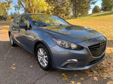 2016 Mazda MAZDA3 for sale at BELOW BOOK AUTO SALES in Idaho Falls ID