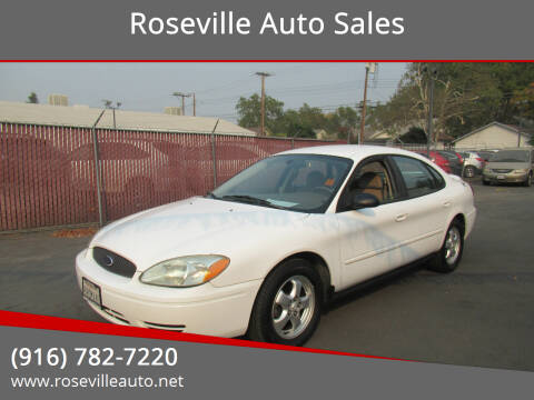 2006 Ford Taurus for sale at Roseville Auto Sales 131 in Roseville CA