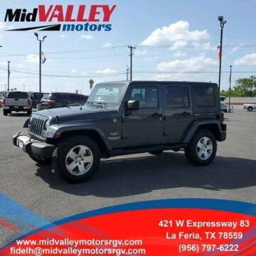 2008 Jeep Wrangler Unlimited for sale at Mid Valley Motors in La Feria TX