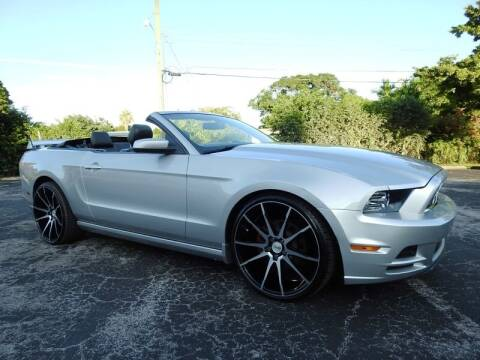 2013 Ford Mustang for sale at SUPER DEAL MOTORS 441 in Hollywood FL