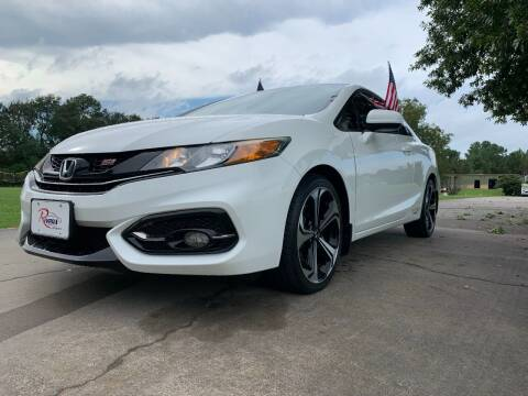 2015 Honda Civic for sale at Rivera Auto Group in Spring TX