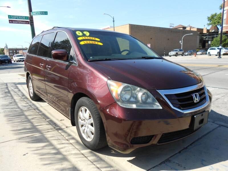 2009 Honda Odyssey for sale at Metropolitan Automan, Inc. in Chicago IL