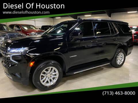 2021 Chevrolet Tahoe for sale at Diesel Of Houston in Houston TX