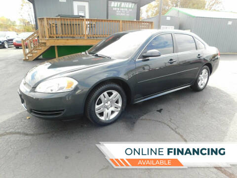 2013 Chevrolet Impala for sale at Buy Right Auto Sales Inc in Fort Wayne IN