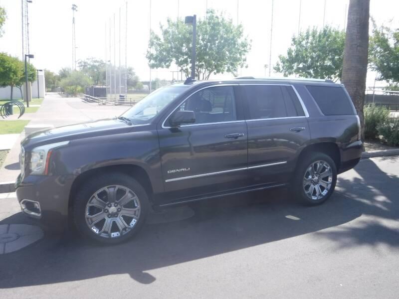 2015 GMC Yukon for sale at J & E Auto Sales in Phoenix AZ