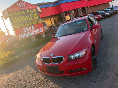 2006 BMW 3 Series for sale at HW Auto Wholesale in Norfolk VA