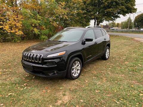 2017 Jeep Cherokee for sale at CItywide Auto Credit in Oregon OH