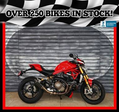 2015 Ducati Monster 1200S for sale at AZautorv.com in Mesa AZ