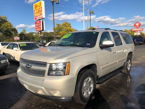 2008 Chevrolet Suburban for sale at RJ AUTO SALES in Detroit MI