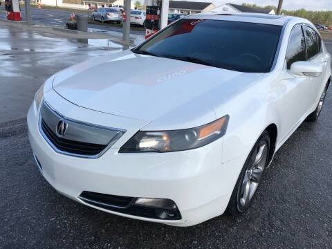 2012 Acura TL for sale at County Line Car Sales Inc. in Delco NC