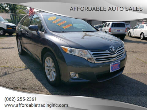 2011 Toyota Venza for sale at Affordable Auto Sales in Irvington NJ