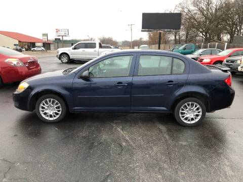 2010 Chevrolet Cobalt for sale at WHITE'S MOTOR COMPANY in Langley OK