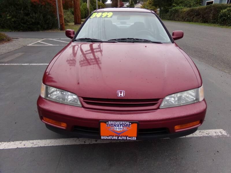 1994 Honda Accord for sale at Signature Auto Sales in Bremerton WA