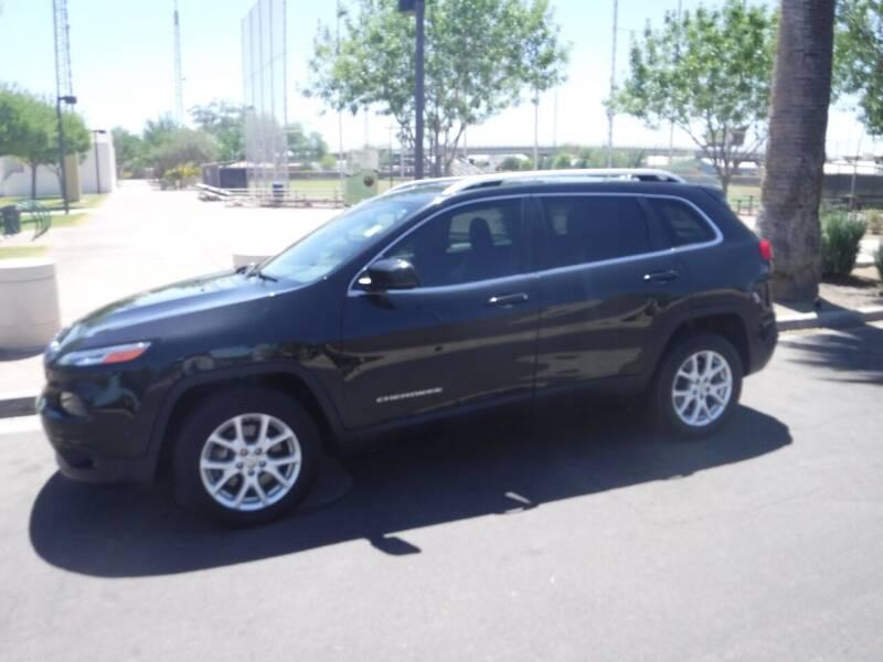 2016 Jeep Cherokee for sale at J & E Auto Sales in Phoenix AZ