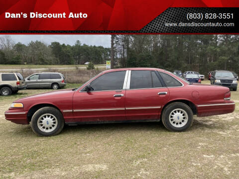 1996 Ford Crown Victoria for sale at Dan's Discount Auto in Gaston SC