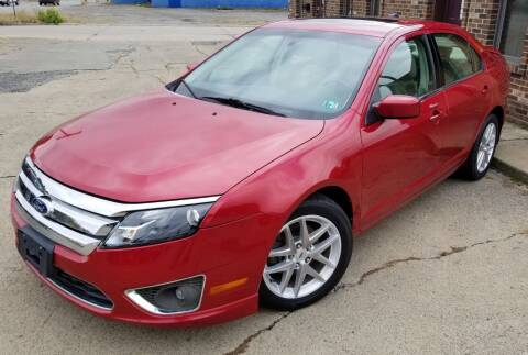 2010 Ford Fusion for sale at SUPERIOR MOTORSPORT INC. in New Castle PA