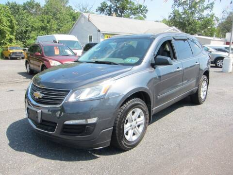 2013 Chevrolet Traverse for sale at K & R Auto Sales,Inc in Quakertown PA