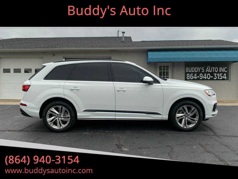 2020 Audi Q7 for sale at Buddy's Auto Inc in Pendleton SC