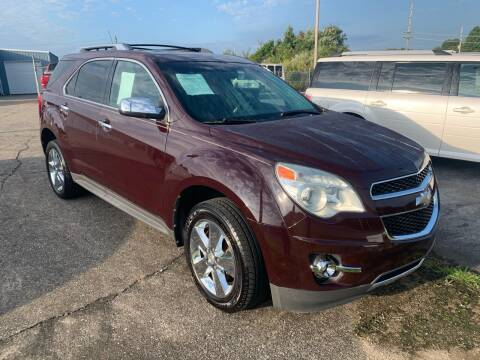 2011 Chevrolet Equinox for sale at JEFF LEE AUTOMOTIVE in Glasgow KY