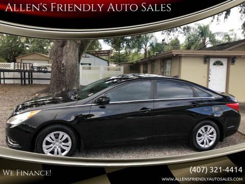 2011 Hyundai Sonata for sale at Allen's Friendly Auto Sales in Sanford FL
