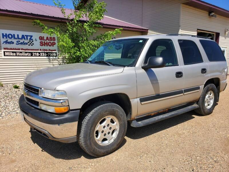 2005 Chevrolet Tahoe for sale at Hollatz Auto Sales in Parkers Prairie MN