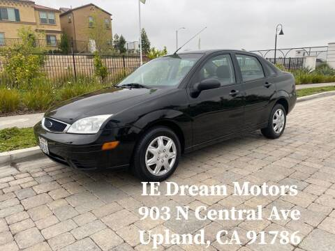 2007 Ford Focus for sale at IE Dream Motors-Upland in Upland CA