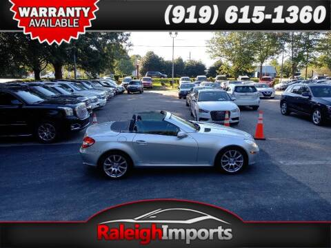 2006 Mercedes-Benz SLK for sale at Raleigh Imports in Raleigh NC